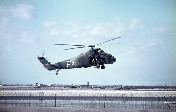 Khormaksar - RAF Wessex