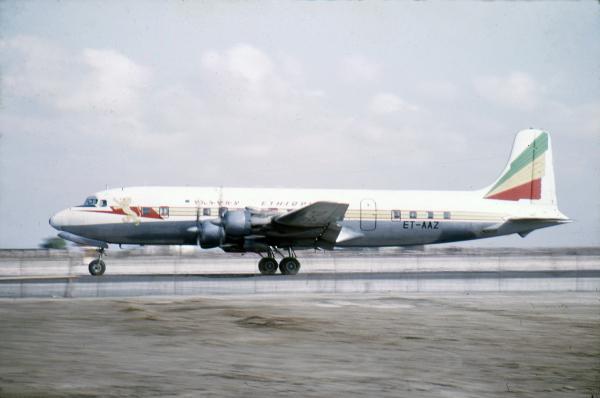 Khormaksar - Ethiopian Airlines DC6