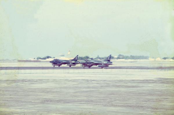 Khormaksar - RAF Hunters
